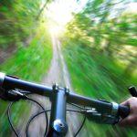 Mountain biking in the Jura