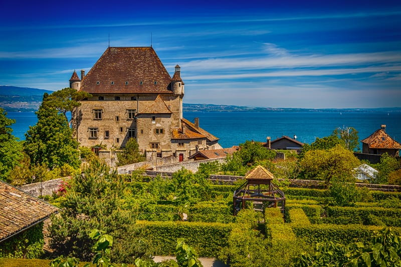 Ten things to do with kids in the lake geneva region for Jardin 5 sens yvoire