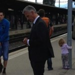 The Swiss president's commute goes viral on twitter