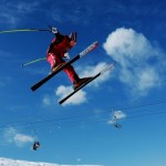 Skiing safety action