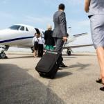 Half of Geneva's flights private