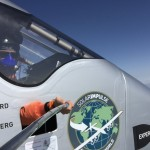 High altitude solar impulse selfies