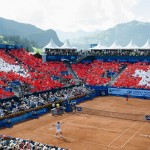 Crédit Agricole 2015 Swiss (Tennis) Open in Gstaad, Switzerland
