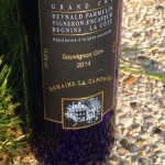 Swiss wine review: Sauvignon Gris Grand Cru 2014 Domaine la Capitaine