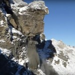 Have you ever seen 6,000 tons of rock fall off the side of a mountain?