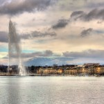 Geneva's Jet d'eau pays tribute to Paris victims