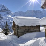 Winter chill arrives in Switzerland, but not for long