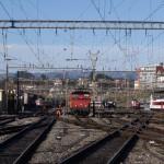 Man dies after kicking a train in Lausanne
