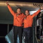 Sun powered aircraft Solar Impulse completes Pacific ocean crossing