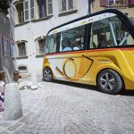 Driverless buses let loose on the streets of Swiss Alpine town
