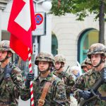 Could foreigners be required to do Swiss military service?