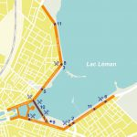 Geneva waterfront closed to traffic on 25 September 2016