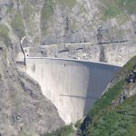 World's highest basketball shot videoed at Swiss dam