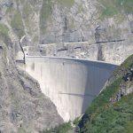 World's highest basketball shot videoed at Swiss dam