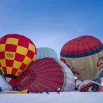 Chateau d'Oex balloon festival has started