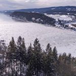 Lac de Joux, Switzerland's largest natural ice skating venue is open