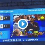 How Roger Federer dealt with defeat