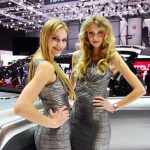 Geneva Motor Show wishes women a beautiful and sweet day