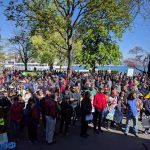 On Saturday crowds took to the streets of Geneva in support of science