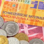 Swiss franc slides 4 percent in one week