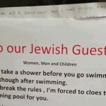 Swiss hotel causes outrage with notice to Jewish guests