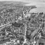 Aerial photos of Zurich 100 years apart