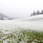A cold front could bring snow to Switzerland this weekend