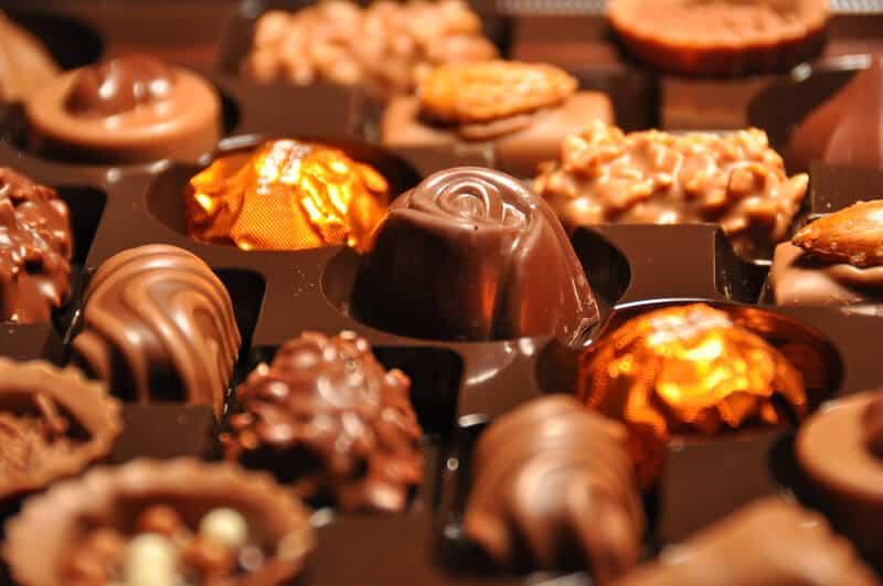Swiss chocolate consumption slides