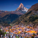 Zermatt temporarily cut off after rock fall