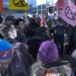 Extinction Rebellion blocks private jet terminal in Geneva