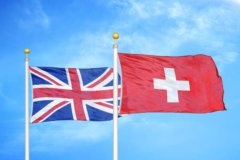 Swiss shares can now be traded again in London
